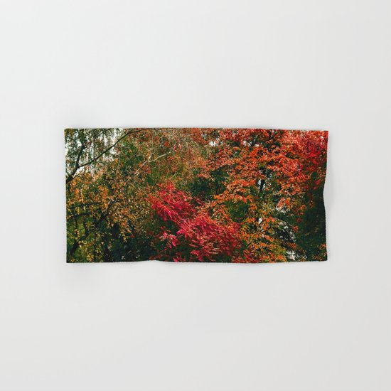 Autumn in the Garden Hand & Bath Towel