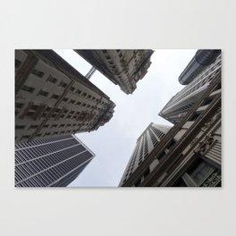 Looking towards Sky - NYC Canvas Print