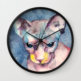 cat#20 Wall Clock