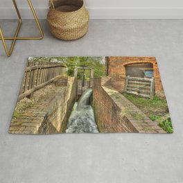 Sluice Gate at the Water mill Rug