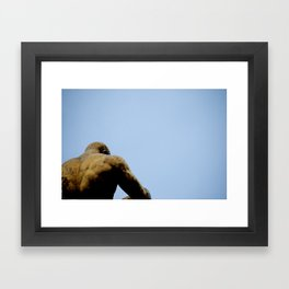 I Wait Framed Art Print