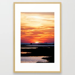 Last Seconds of Light Framed Art Print