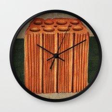 Brazilian's Brick Wall Clock