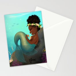 Mermay 2017 4 Stationery Cards