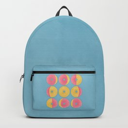 Moon Phase Donuts Backpack