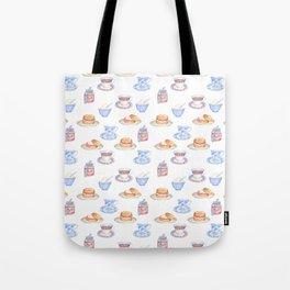 British Cream Tea Pattern Tote Bag