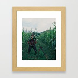 The Son of Pentacles Framed Art Print