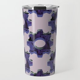 IMPROBABLE GREASE REEL blue pat. Travel Mug