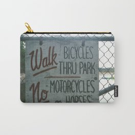 Park Sign Carry-All Pouch
