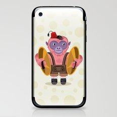 The Monkey Boy iPhone & iPod Skin