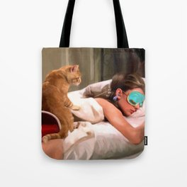 Audrey Hepburn #4 @ Breakfast at Tiffany's Tote Bag