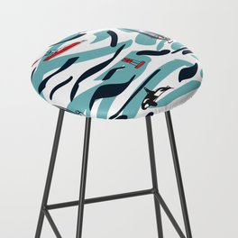 A Day on the Water Bar Stool