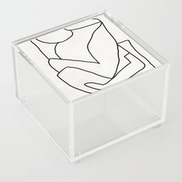 Abstract line art 2 Acrylic Box