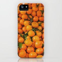clémentine feuille iPhone Case