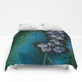 Life On A Leaf II Comforters
