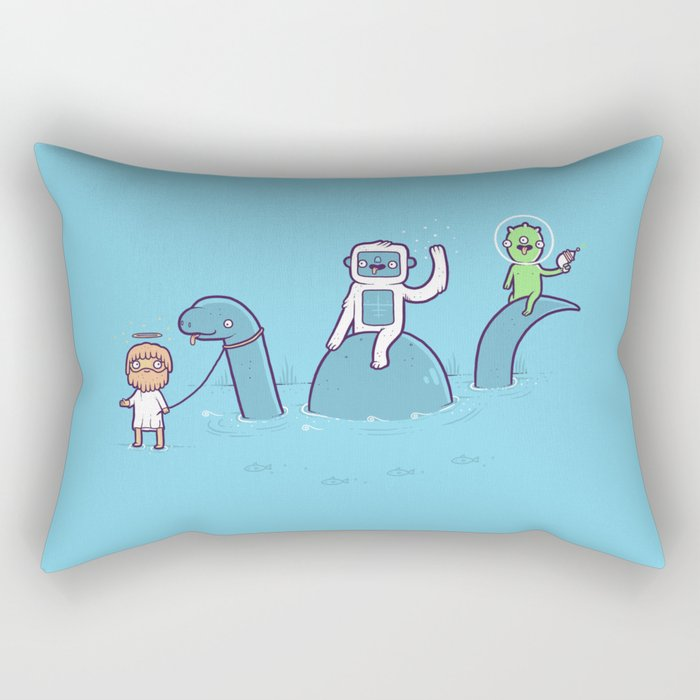 Mythical Creatures Rectangular Pillow