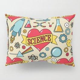 Scientific Tattoos Pillow Sham