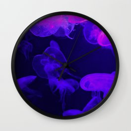 Moon Jellyfish I Wall Clock