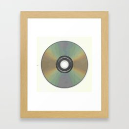 The Compact Disc Framed Art Print