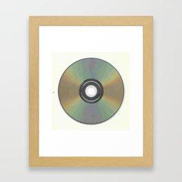 The Compact Disc Framed Art Print