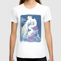 puppycat T-shirts featuring bee and puppycat retro movie poster by Eva Puyal