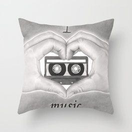 Love 02 Throw Pillow