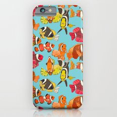 clownfish blue iPhone 6s Slim Case
