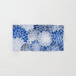 Succulents Shades of Blue Hand & Bath Towel