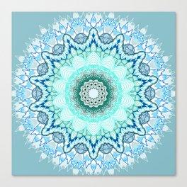 Snow Queen Mandala  Canvas Print