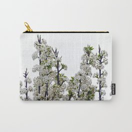 Bradford Pear Blossoms  Carry-All Pouch