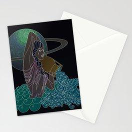 Aquarius #1 Stationery Cards