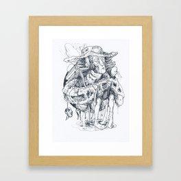 Aggregate II Framed Art Print