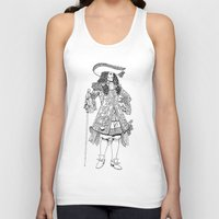 spanish Tank Tops featuring Spanish Explorer by Art of Tom Tierney