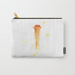 Tangerine Squishy Carry-All Pouch