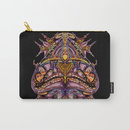 The purple gaze Carry-All Pouch