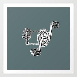 pedals Art Print