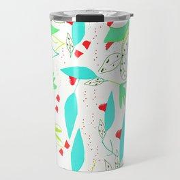 Estampado de hojas/ leave pattern Travel Mug