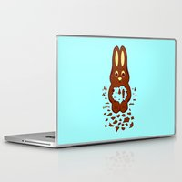 hunting Laptop & iPad Skins featuring Chocolate Hunting by Matt Wasser
