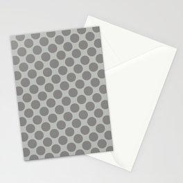 Benjamin Moore Cinder Dark Gray AF-705 Uniform Large Sized Polka Dots on Metropolitan COY 2019 Stationery Cards