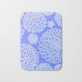 Periwinkle blue or purple Bath Mat