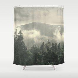Carpathian Mountains - Transylvanian Alps Shower Curtain