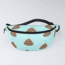Poopy Blue Fanny Pack