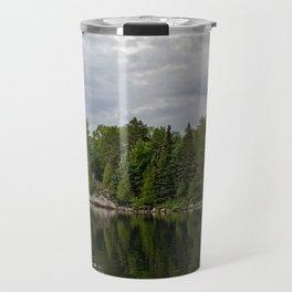Boundary Waters Landscape Travel Mug