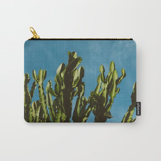 Cactus Sky Carry-All Pouch