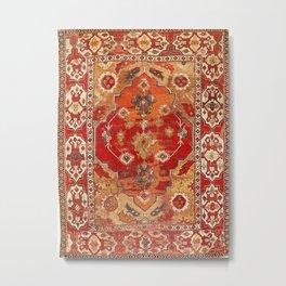 Transylvanian West Anatolian Carpet Print Metal Print