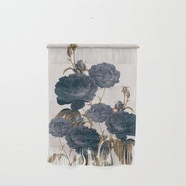 blue flowers Wall Hanging
