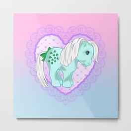 g1 my little pony minty Metal Print
