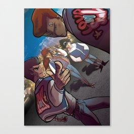 LOUD IN SCHOOL Canvas Print