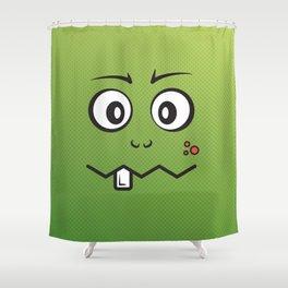 Little Monster Lars Shower Curtain