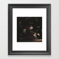 IF YOU CAN STOMACH ME Framed Art Print